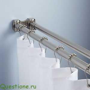 Как выбрать карниз для ванной комнаты